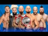 Gallows and Anderson vs SAWFT vs Cesaro and Sheamus vs The Hurdy Boyz - Ladder Match - WrestleMania 33