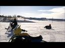 Снегоход самодельный мини МИКС Х по лесу, в деревне,......