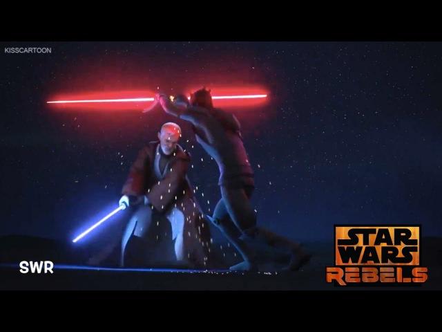 Star Wars Rebels Obi Wan Vs Maul