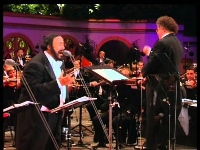Los Tres Tenores Jose Carreras Placido Domingo Luciano Pavarotti Paris 1998 concert