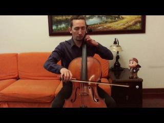 POPPER PROJECT: Yuri Voroniuk plays Etude #1 (Allegro molto moderato) for cello by David Popper