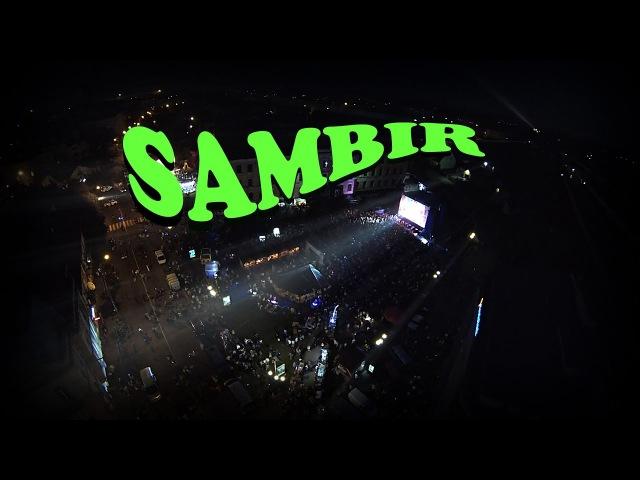 Самбір. День міста 2016 з повітря ( Sambir Air Video )