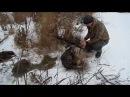 первая подледная охота на бобров
