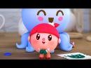 Малышарики - Осьминог - серия 71 - обучающие мультфильмы для малышей 0-4 - моем руки