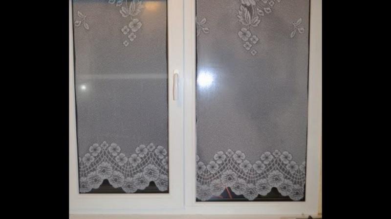 Как красиво оформить окно на кухне Тонирую окна Проверка на практике