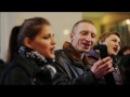 Флешмоб на вокзале в Запорожье Весна на Заречной улице