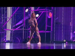 Танцы: Настя Дамер (Kristina Si - Mama Boss) (сезон 4, серия 2) из сериала Танцы смотреть беспл...