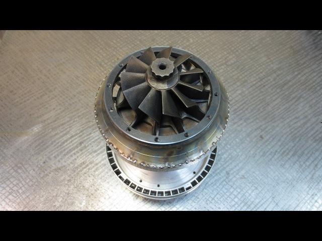 Сопловой аппарат - постройка самодельного реактивного двигателя ТРД cjgkjdjq fggfhfn - gjcnhjqrf cfvjltkmyjuj htfrnbdyjuj ldbufn