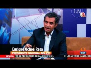 Enrique Ochoa Reza, nuevo dirigente del PRI nacional, en Primero Noticias