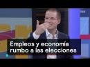 Anaya Barrales y Ochoa debaten sobre empleos y economía rumbo al 2018 Despierta con Loret