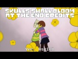 【Undertale】 Skulls Shall Bloom At The End Credits Ver. Asriel 【English Subtitles】