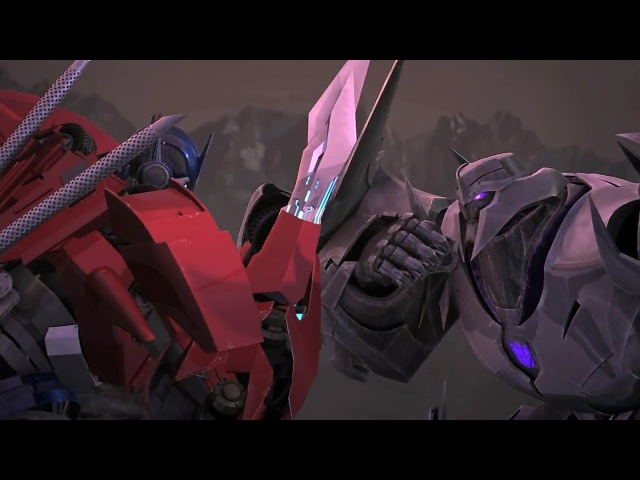 Dredving - Трансформеры прайм клип про Мегатрон против Оптимуса Прайма (АНГЕЛ или ДЕ ...