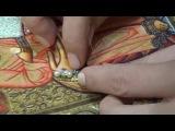 Видео  1.  Украшение лентой с самоцветами и жемчугом