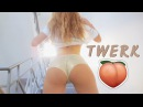 Twerk \ white girl twerking \ Darlene Sid - Teeflii - Fuck That Nigga