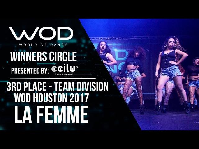 La Femme | 3rd Place Team Division I Winners Circle | WOD Houston 2017 | WODHTOWN17