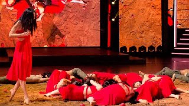 «Танцуют все!». Контемпорари. Бурятский национальный театр песни и танца «Байкал» и Валерия