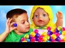 Bad Baby ЗЛАЯ КУКЛА Беби Бон Украла Конфеты Ромы! Evil Doll Baby Born STOLE Bad Baby Candy