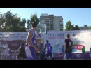 уличный баскетбол финал Команда мы от Вовы vs Клубника и морж ч.2