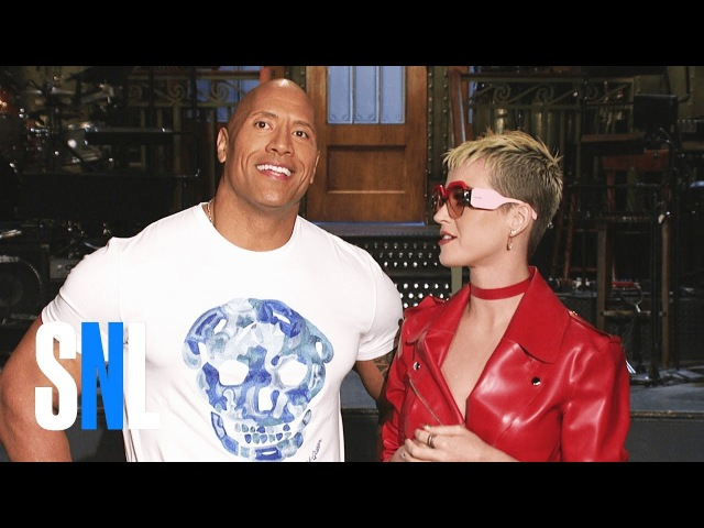 Dwayne Johnson and Katy Perry Are Two of a Kind - SNL