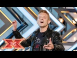 Aidan Martin delivers the perfect Punchline  Auditions Week 2  The X Factor 2017