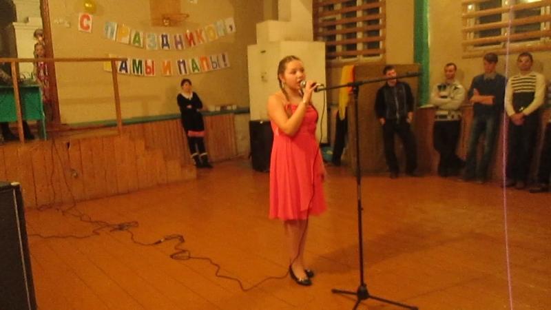 Карина Наговицына - Одуванчики (COVER Голубые Береты) 2013г.