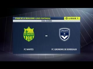 Нант - Бордо 0:1 видео