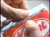 Реклама шоколада kit kat 1992 год