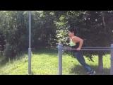 Тренировка на свежем воздухе( Воркаут)