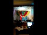 Любовь Анохина.Песня там на Голгофе.Праздник Пасха в ЦДВ.
