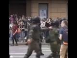 День России в Москве задержание под гимн