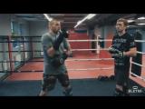 Удар в печень + лоу-кик — удары в Кикбоксинге с Андреем Басыниным и Дмитрием Киселевым