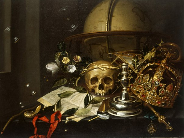 oosterwyck vanitas Maria van oosterwyck was the daughter of a well-to-do clergyman  maria van oosterwyck often added vanitas connotations and inscriptions to her paintings.