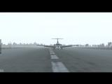 Первый рейс на як-40.