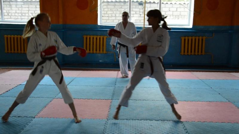 26 июня 2017 года экзаменационная аттестация на пояса отделения каратэ-до Сватовской ДЮСШ