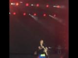 June 5: Fan taken video of Justin performing 'Fast Car' in Aarhus, Denmark.