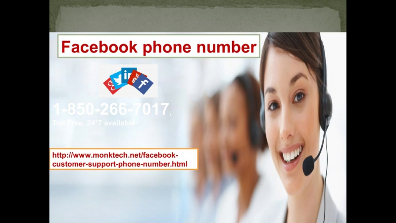 Getting smart with: Facebook Phone number 1-850-266-7017
