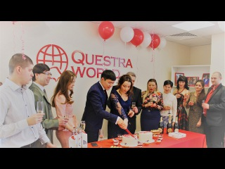 Открытие офиса международной компании Questra World на Алтае, в городе Барнаул - 11.02.2017