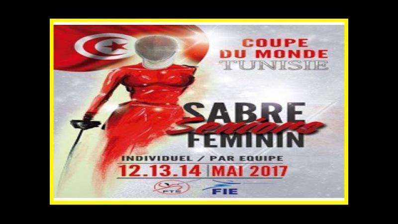 Tunis Coupe du Monde Sabre Féminin Individuel - Finals