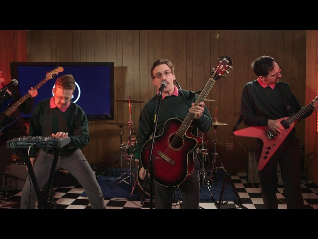 """Ned Flanders band Okilly Dokilly performs """"Godspeed Little Doodle"""" in The A.V. Club studio"""