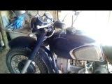 Мотоцикл днепр с карбюраторами от мопеда альфа дельта.