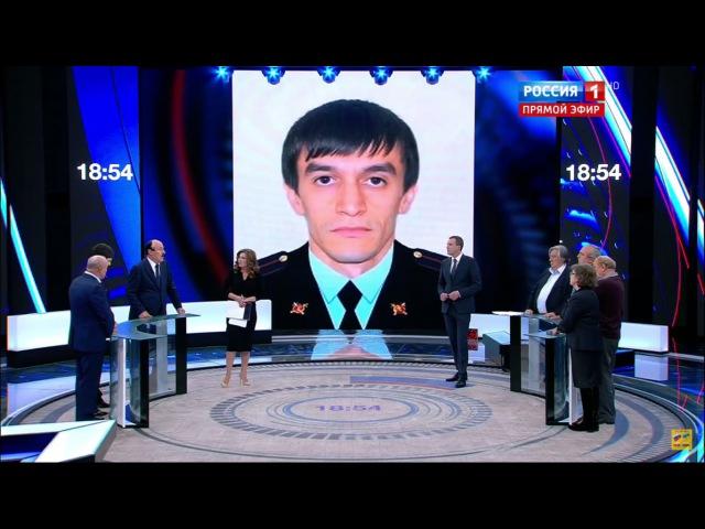 Герой России лейтенант Магомед Нурбагандов