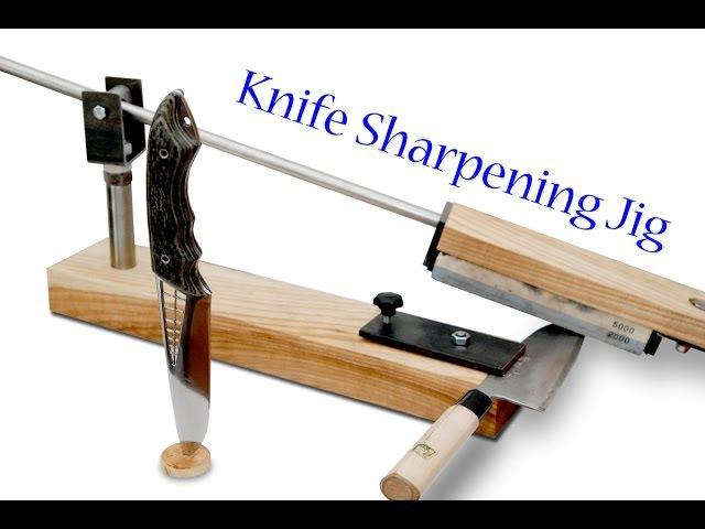 Building Knife Sharpening Jig