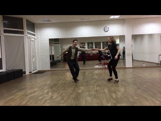 Lindy Hop Rhythm Footwork Recap