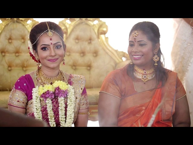Malaysian Indian wedding ceremony Thinish Nair Geta Devi