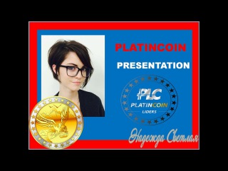PLATINCOIN PRESENTATION INNOVATIVE TECHNOLOGY CRYPTOCURRENCY