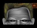 Illustrator Line Art Tutorial   Face Line Art