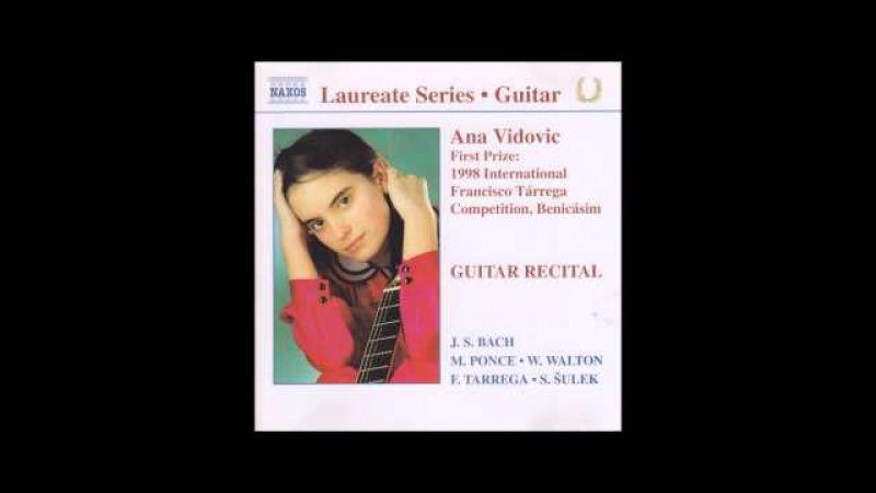 Ana Vidovic - Guitar Recital [Full album]