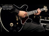 Gibson B.B. King Lucille Semi-Hollow Electric Guitar, Ebony