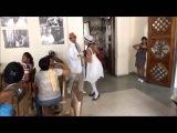 Bailadores Onel y Yalenys en La Casa de la Trova, Santiago de Cuba