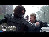 Captain America The Winter Soldier (2014) CLIP  Captain America vs. The Winter Soldier Fight Scene